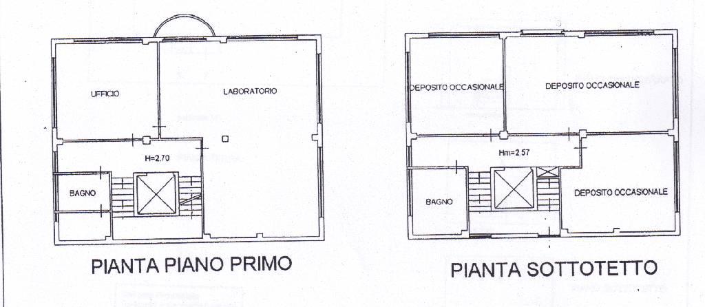 Fondo artigianale in affitto a grosseto cittadella rif 01462 for Piani di ponte su due livelli